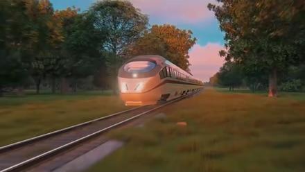 Render Tren Maya