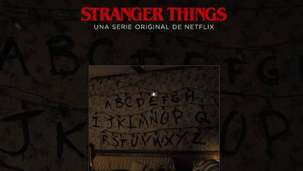 La página para crear GIFs de 'Stranger Things'.