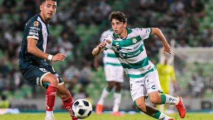 Jordan Carrillo, jugador del Club Santos y Selección Mexicana Sub-21