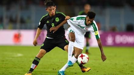 México Sub-17 no logró la victoria en su debut mundialista