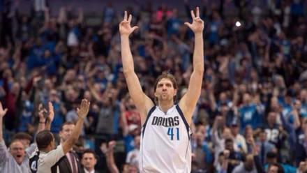 Dirk Nowitzki es el mejor internacional de la NBA.