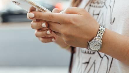 Celular iphone teléfono