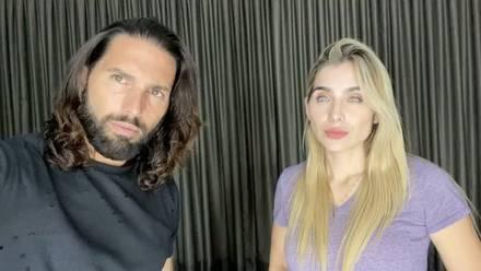 Poncho De Nigris y Marcela Mistral