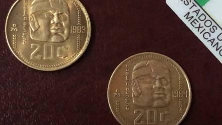 Moneda de 20 centavos