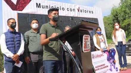 Alexander Araujo, estudiante de Ecatepec