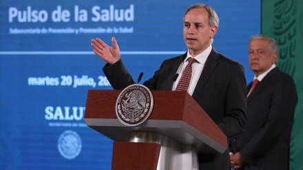 Hugo López-Gatell, subsecretario de Prevención y Salud.
