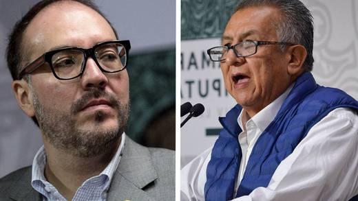 Aprueban periodo extraordinario para desafueros de Mauricio Toledo y Benjamín Saúl Huerta