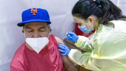 Vacunación en Nueva York