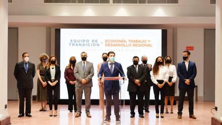 Samuel García presenta equipo de transición en economía, finanzas y desarrollo social