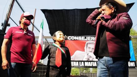 VIDEO: SALGADO MACEDONIO quiere saber DÓNDE VIVEN los consejeros del INE