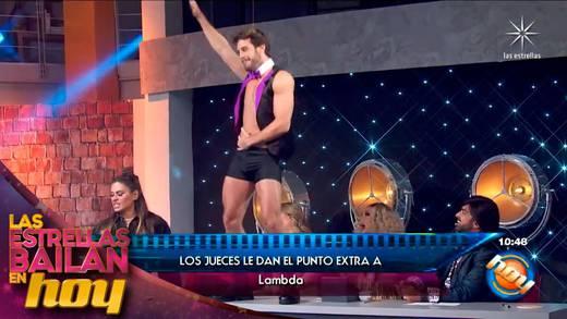 'Las Estrellas bailan en Hoy': Lambda García ya es el favorito de las juezas