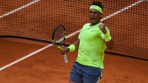 Rafael Nadal se consagra en el Masters de Roma