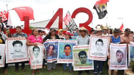 Protestas por la desaparición de los 43 normalistas en Acapulco, Guerrero