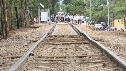 Tramo para Tren Maya