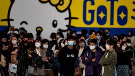 Jóvenes en Japón