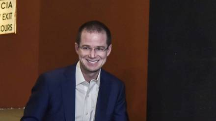 El ex candidato presidencial Ricardo Anaya
