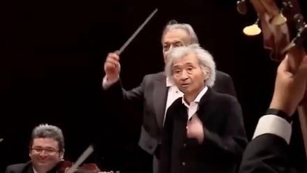 Seiji Ozawa, ex director de orquesta