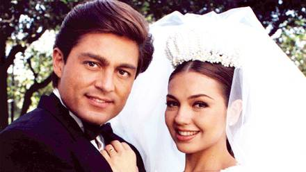 Thalía y Fernando Colunga