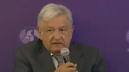 Andrés Manuel López Obrador en la American Chamber of Mexico