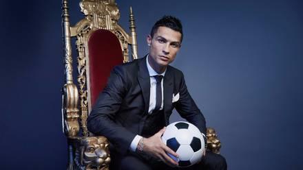 Ronaldo, una personalidad de talla mundial.