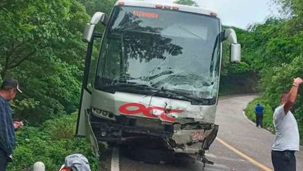 Accidente en Oaxaca