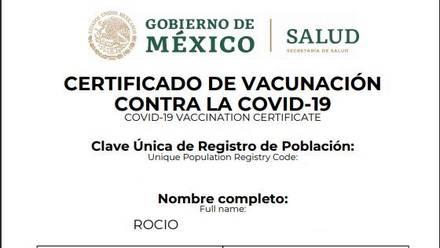 Ya puedes obtener tu certificado de vacunación Covid-19 desde WhatsApp