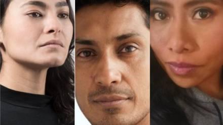 Mabel Cadena, Tenoch Huerta y Yalitza Aparicio