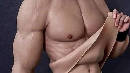 Traje de músculos