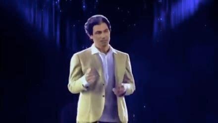 Holograma Robert Kardashian