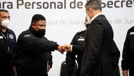 Oaxaca anuncia créditos hipotecarios preferenciales para elementos de la SSPO y FGEO