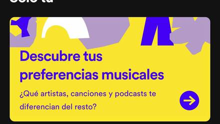 'Solo tú' de Spotify