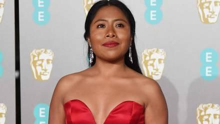 Yalitza Aparicio en los premios Bafta 2019