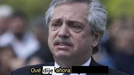 Alberto Fernández, meme