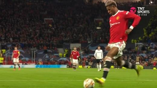 Manchester United vs Atalanta:  Los ingleses se recuperan y Rashford anota el primero para su equipo