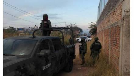 Elementos del Ejército Mexicano. Detención de hombres armados.