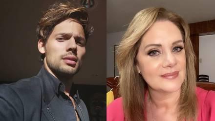 Emmanuel Palomares y Erika Buenfil