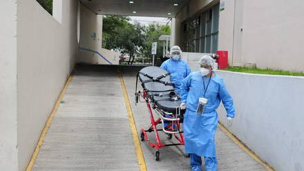 Hospital Covid-19 en la CDMX