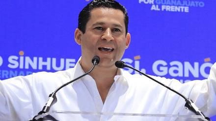 Diego Sinhue Rodríguez, gobernador de Guanajuato.