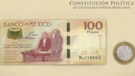 La moneda y billete conmemorativo puede alcanzar los 599 pesos en el mercado