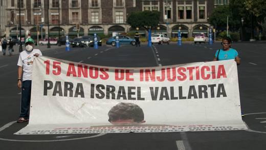 Israel Vallarta: desechan solicitud de amparo