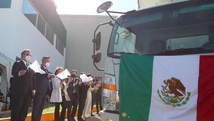 Lotes de vacunas envasadas en MÉXICO