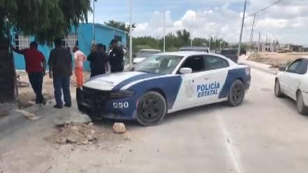 Escena del crimen en Reynosa