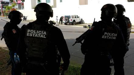 Policías de Sinaloa, en Culiacán