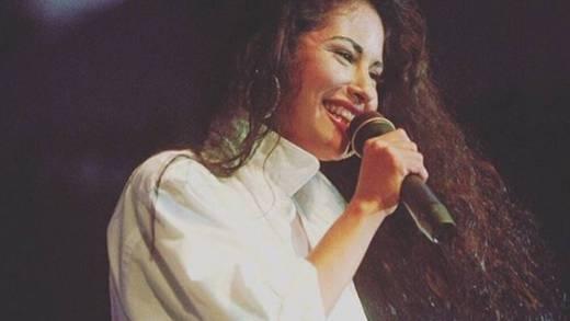 Revelan gran parecido de Selena Quintanilla con su sobrino