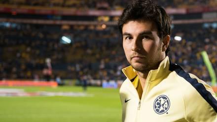 Checo Pérez es fan del América