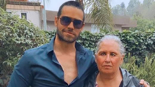 Eleazar Gómez celebra el cumpleaños de su mamá