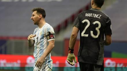 Lionel Messi y Emiliano Martínez, los héroes de Argentina