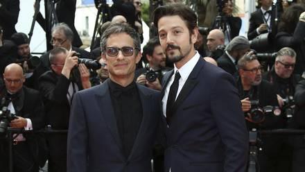 Gael García (director) y Diego Luna