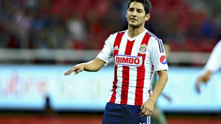 Ángel Reyna defendió la camiseta de Chivas