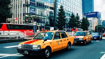 Taxis Japón